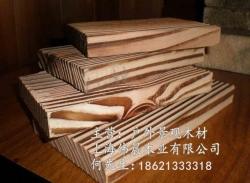 表面炭化木、刻纹木